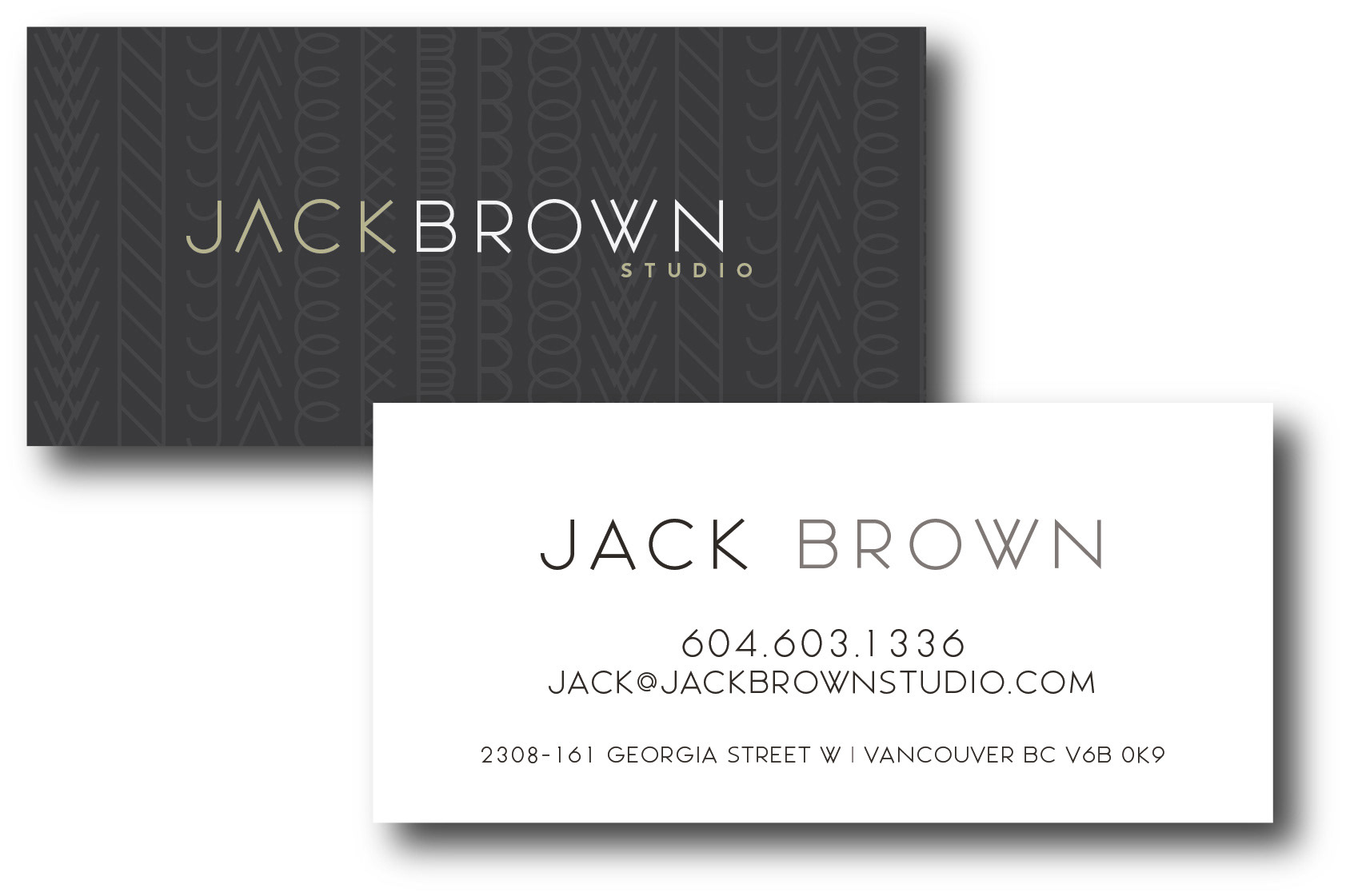 High end business cards vancouver choice image card design and high end business cards vancouver images card design and card template torque design jack brown studio reheart Choice Image