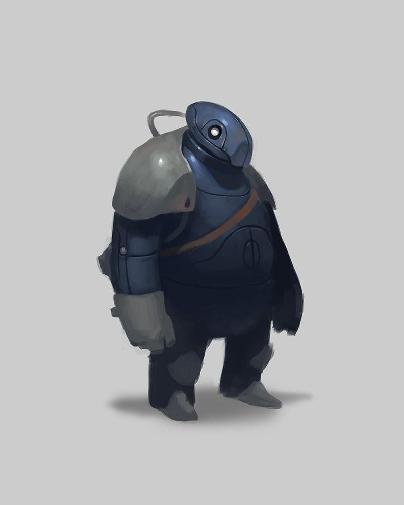 Good Character Design Portfolio : Michael myers robo buddies character design and