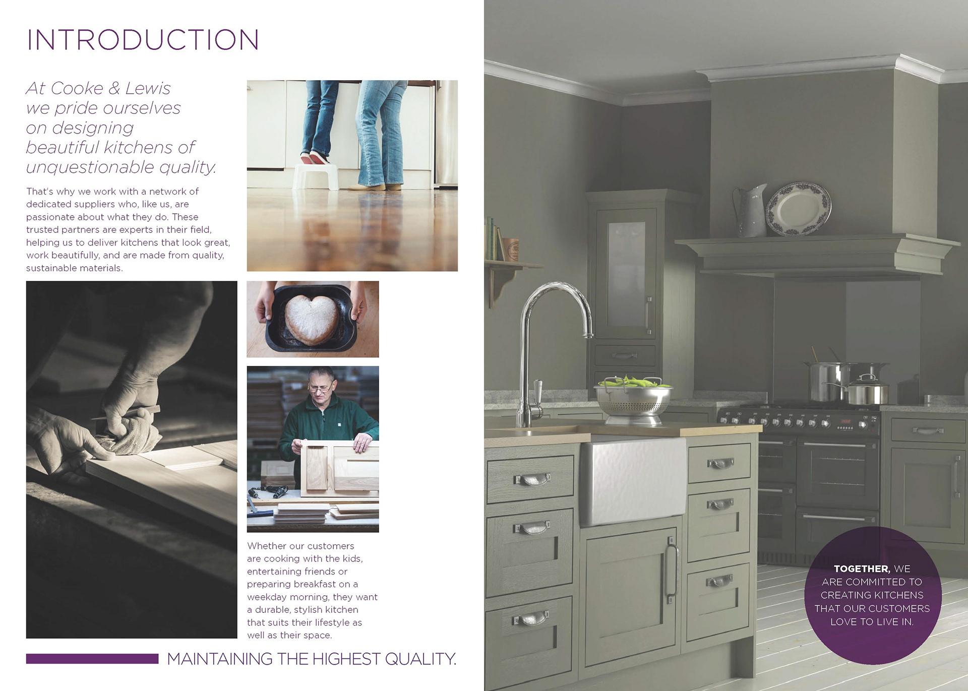 Michael L Harper - Cooke & Lewis Brochure - Editorial