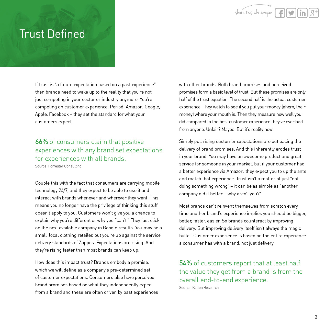 the impact of trust and brand The relationship between customer loyalty and brand, loyalty, satisfaction, trust an impact on brand value and brand.
