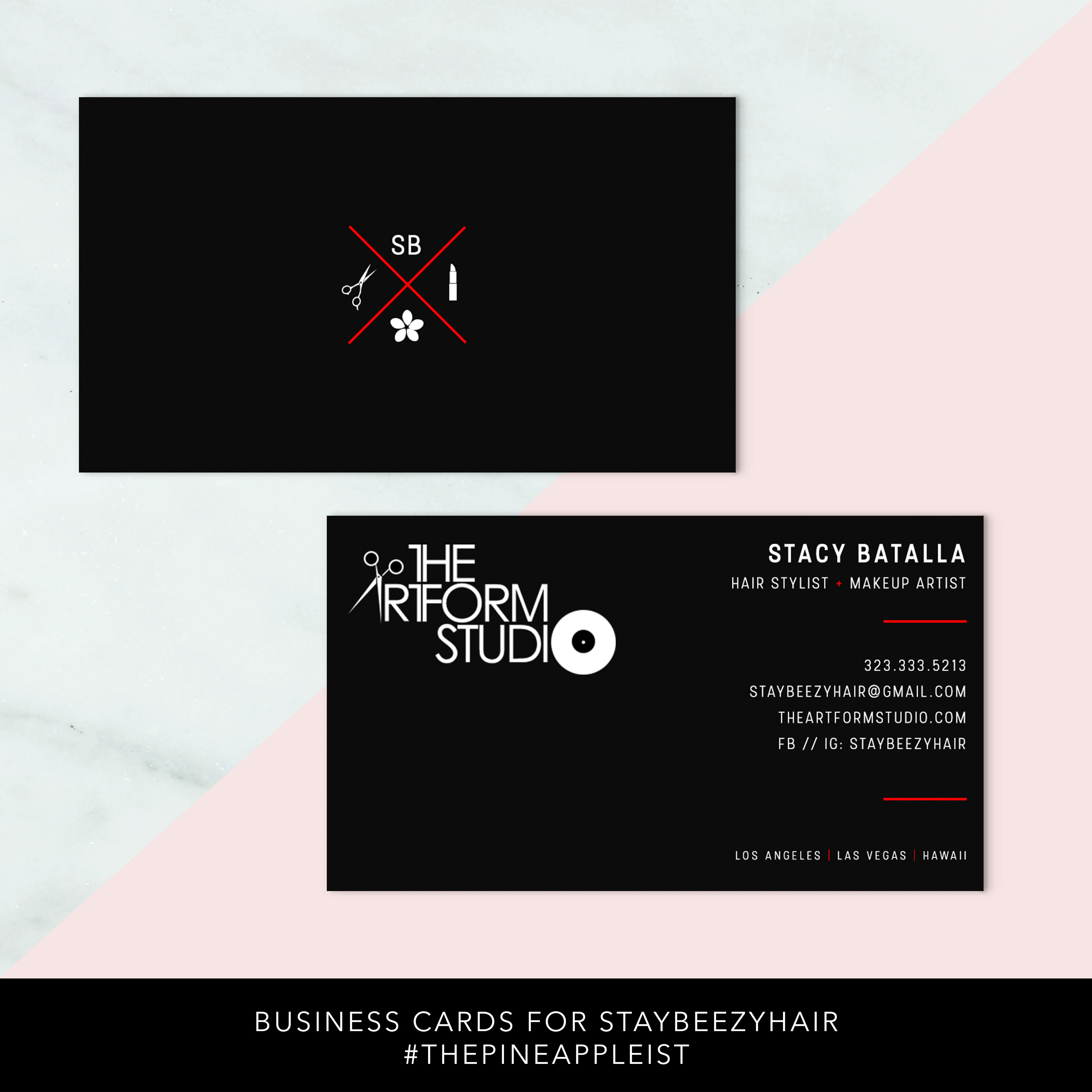 Inspirational Image Of Makeup Business Cards – Business Cards and Resume
