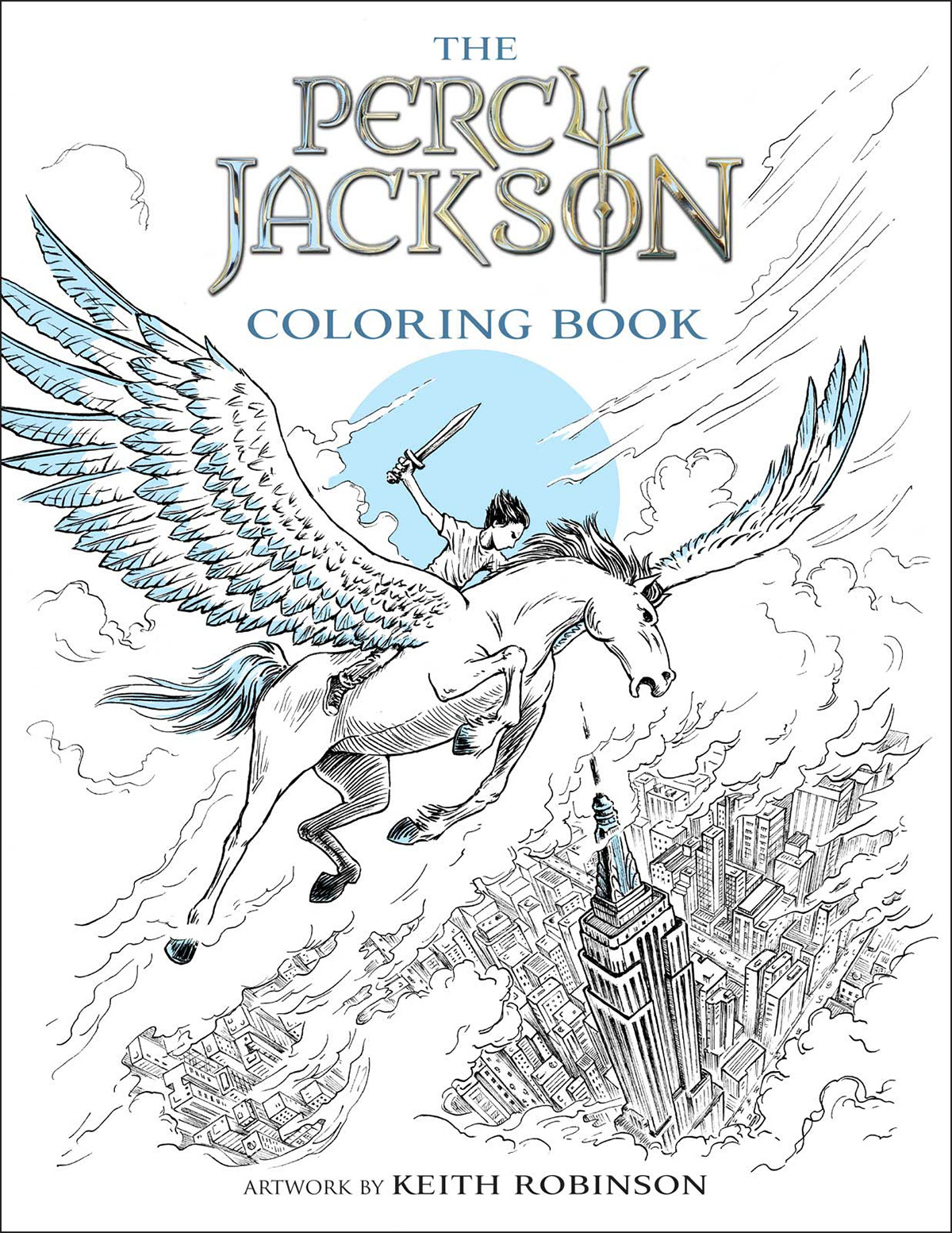 Keith Robinson Illustration Percy Jackson Percy Coloring Pages