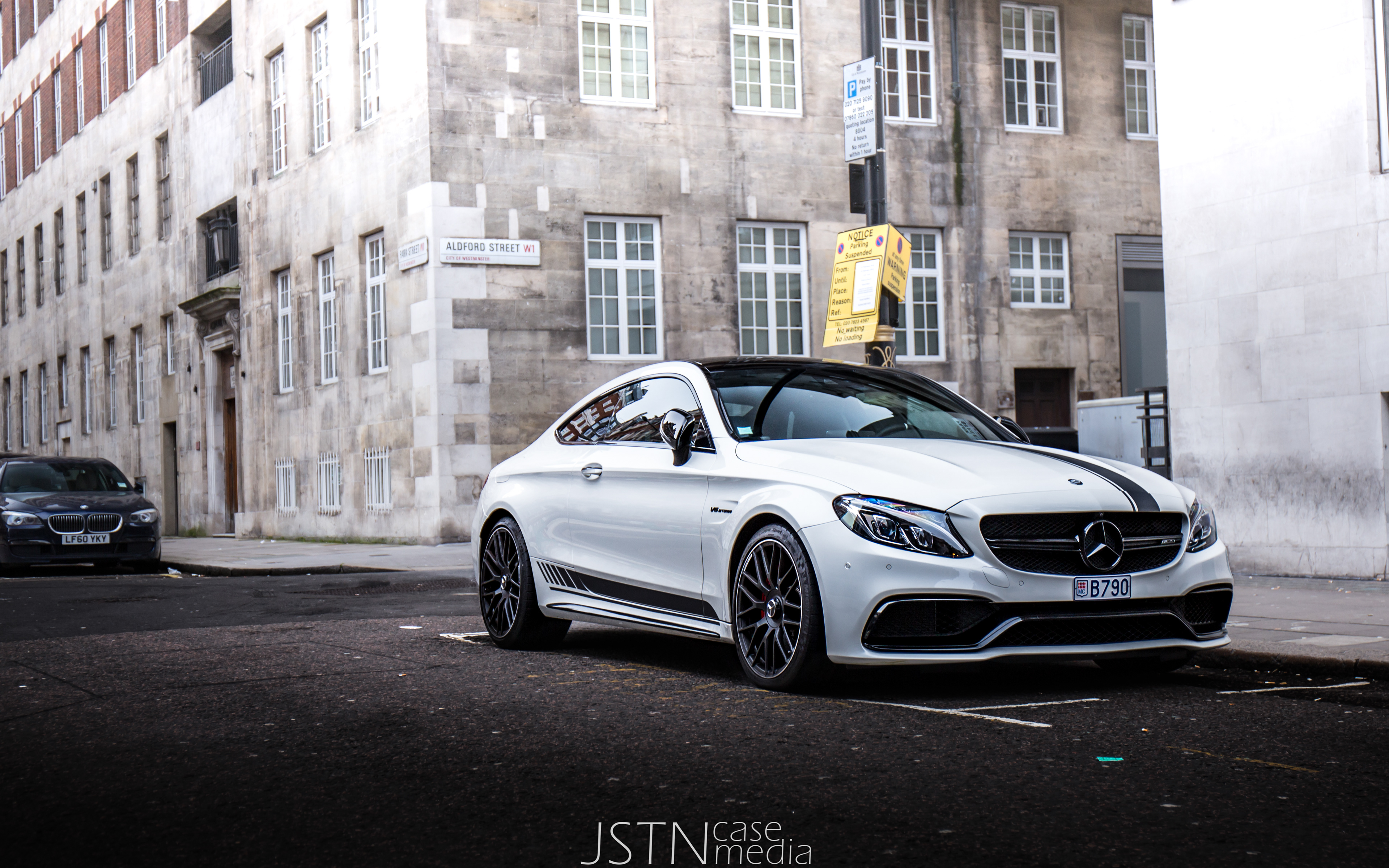 JSTNcase Media Mercedes C C63 S in London