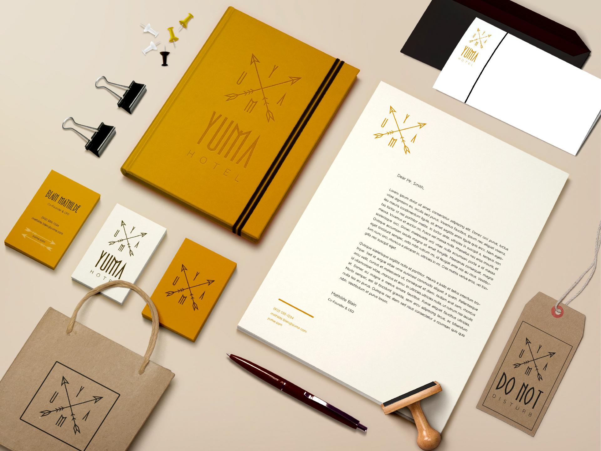 Mathilde B. Graphic designer - Yuma
