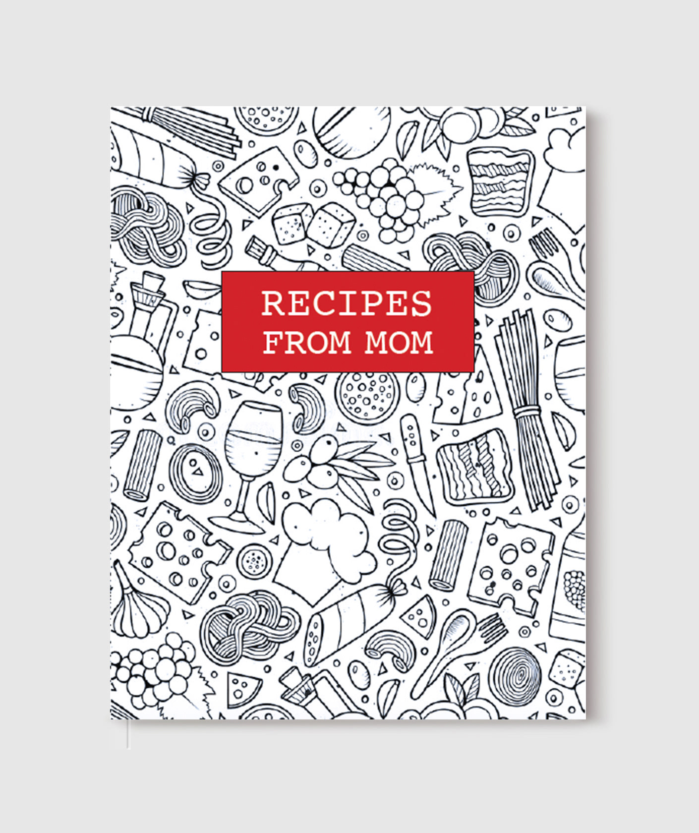 sarah diebboll double sided cookbook