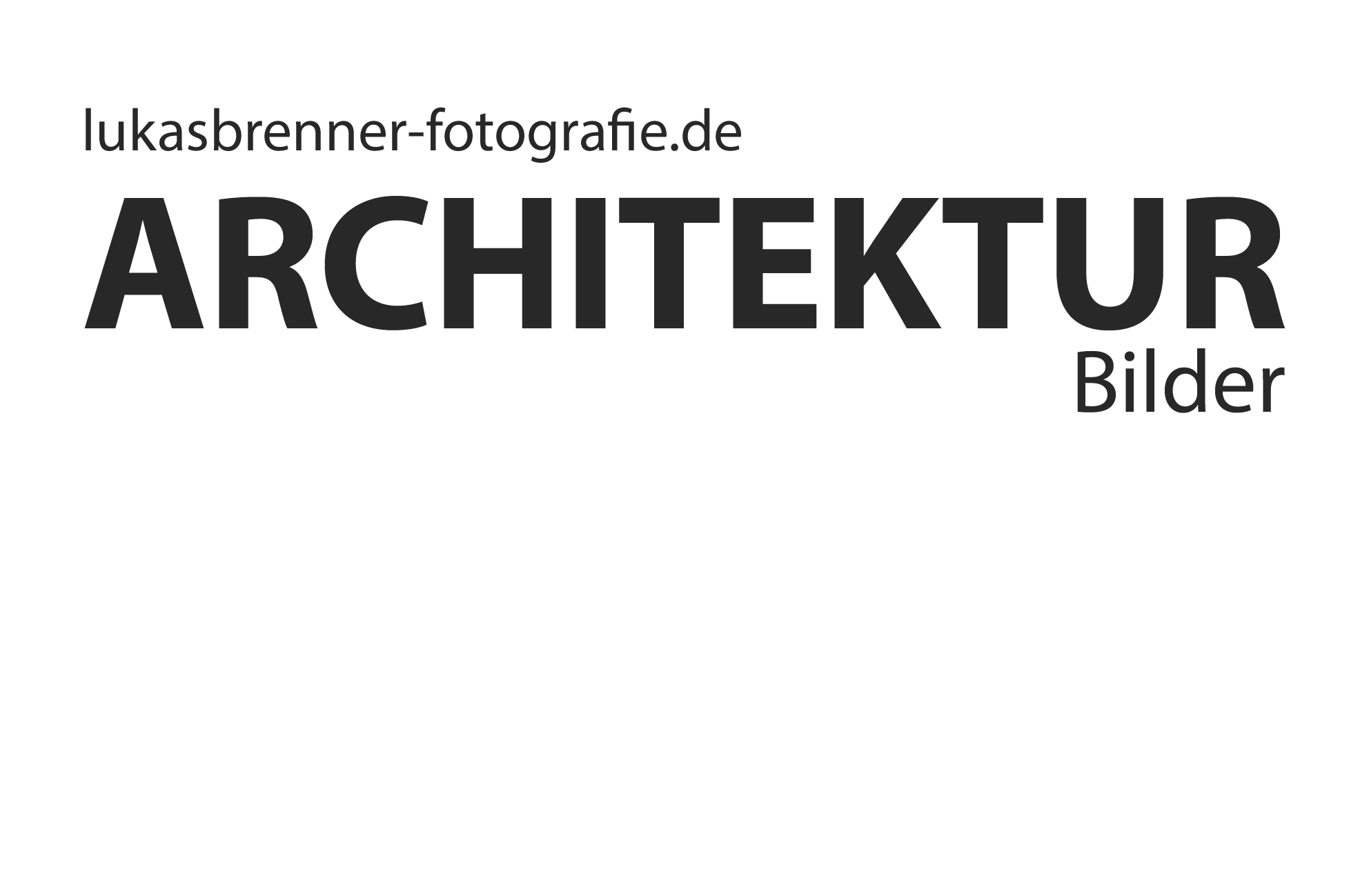 Lukas Brenner Architekturfotografie Stuttgart
