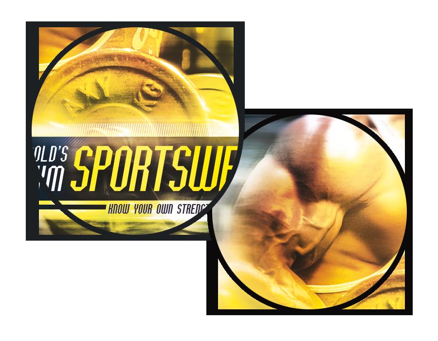 Christoph Tisch Gold S Gym Sportswear Poster