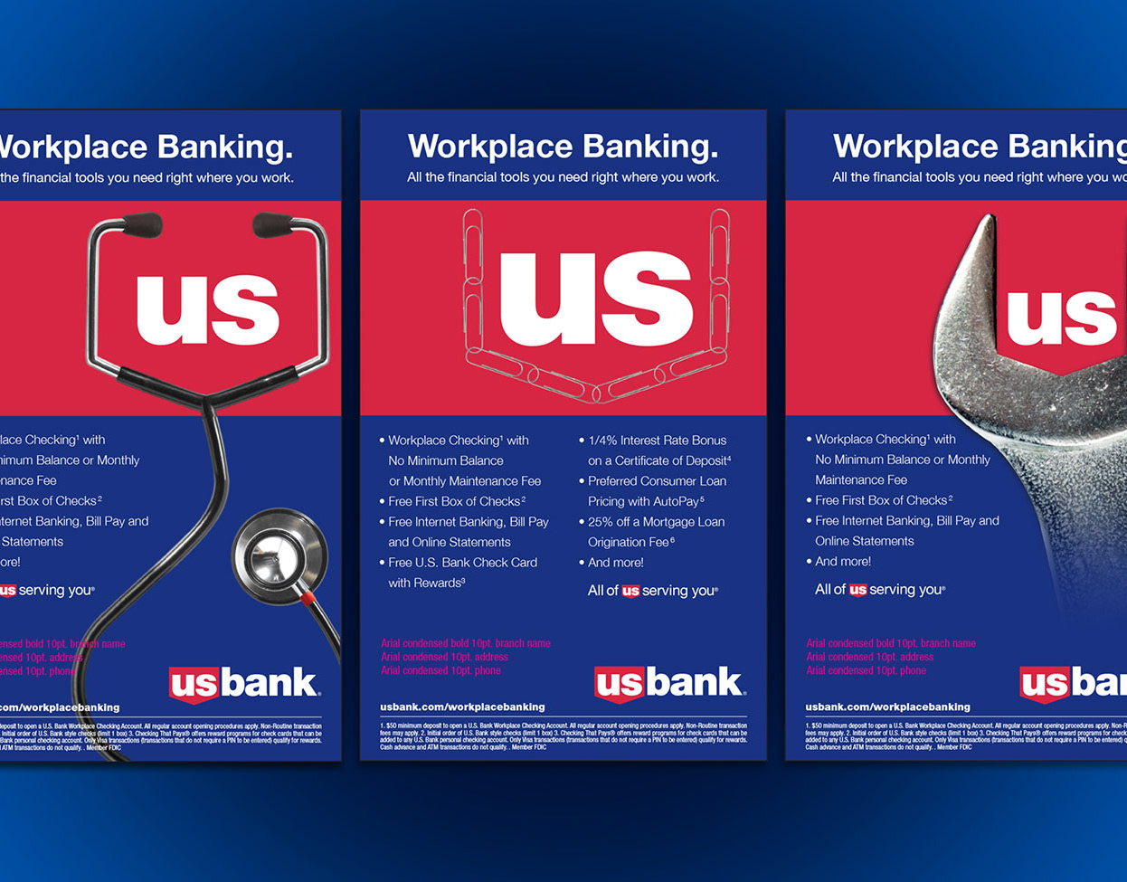 Dan Brill Us Bank Private Client Group Print Collateral
