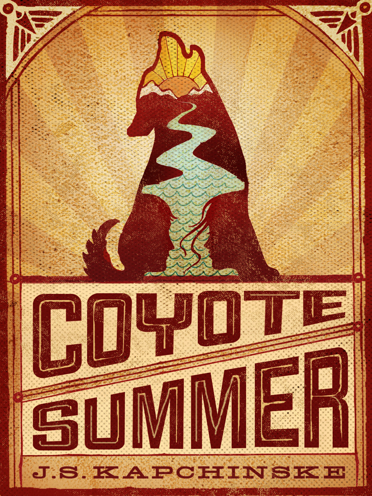 Young Adult Book Covers ~ Samantha wiley coyote summer: book cover