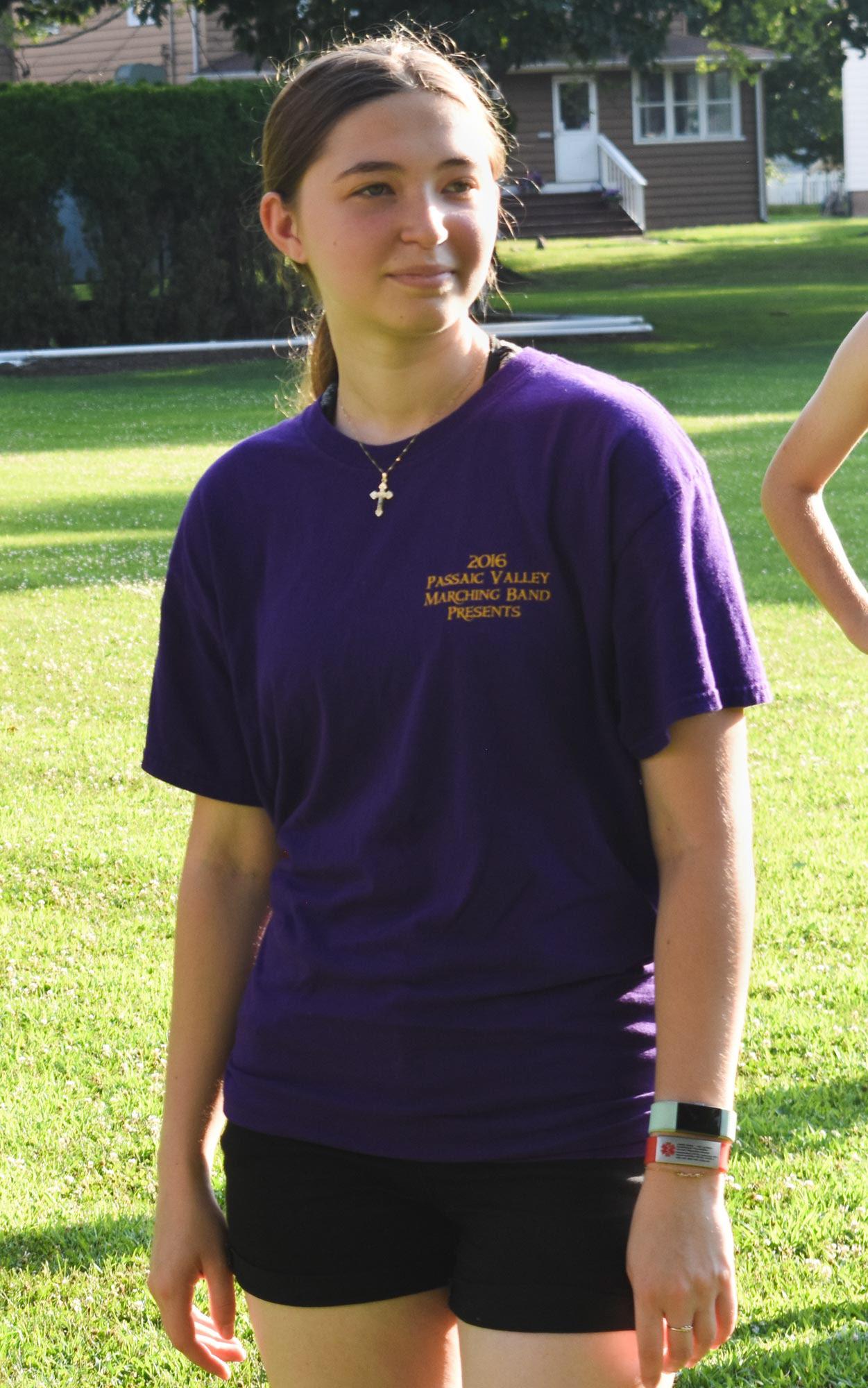 Erin Colgan Hunchback Of Notre Dame Marching Band T Shirt Logo