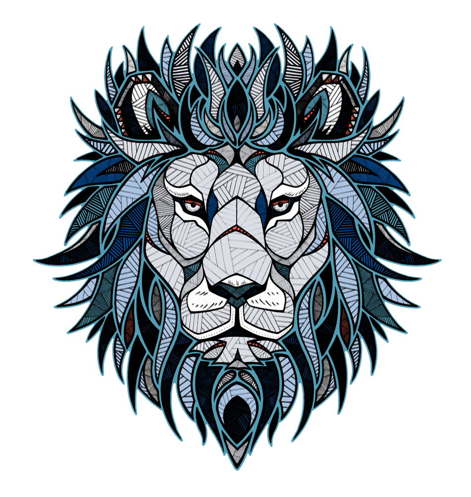 andreas preis adidas originals     kids  collection Wolf Head Outline Tribal Wolf Head