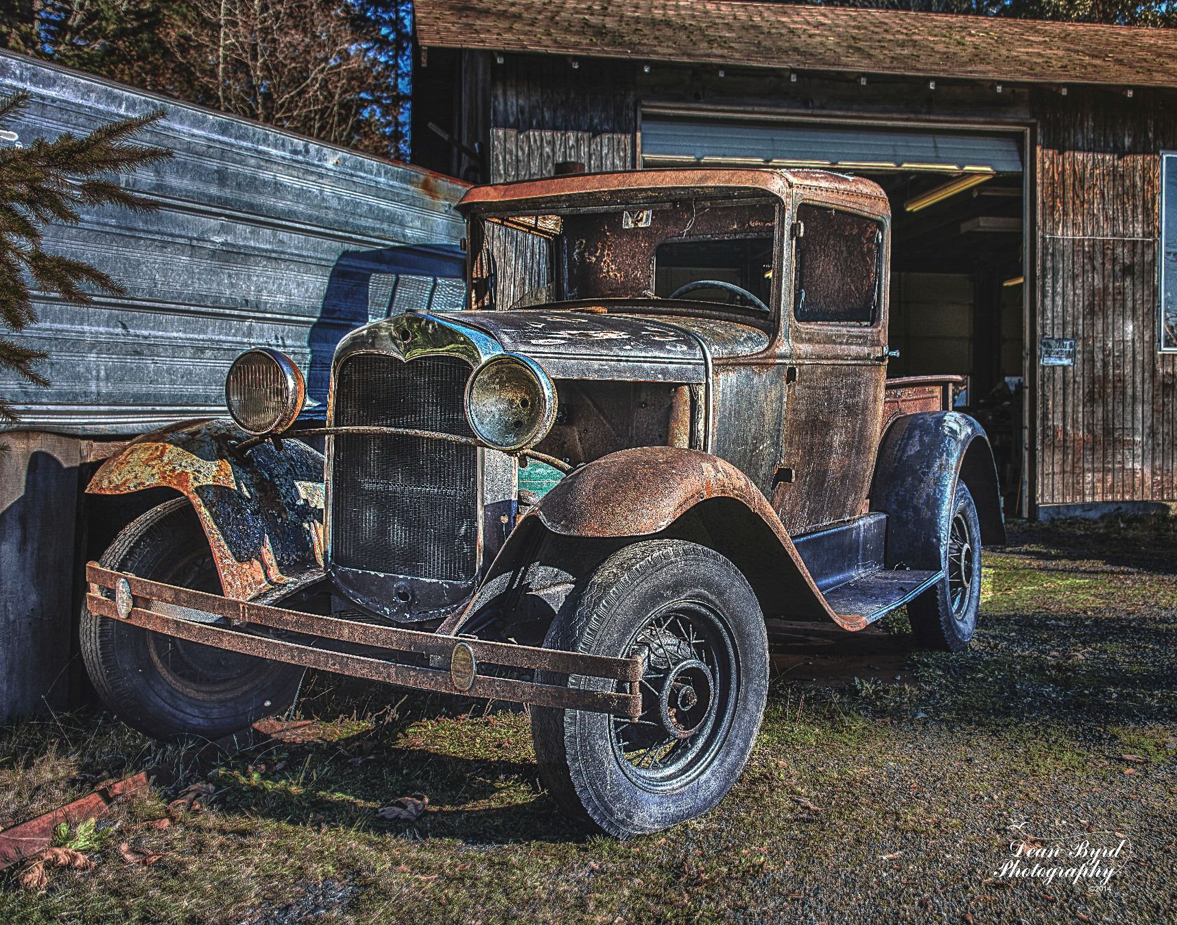Dean Byrd Photography - Old Barns, Schools, and Vehicle