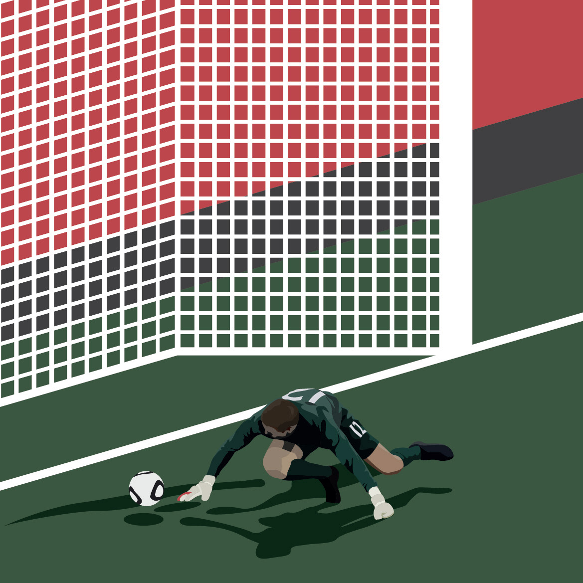Ben Hasking - Design & Illustration - WEIRD WORLD CUP