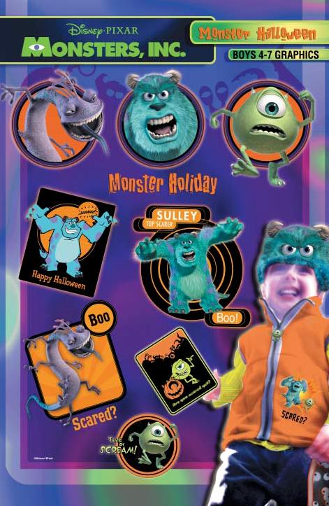 R  Freeland - Disney: Monsters, Inc