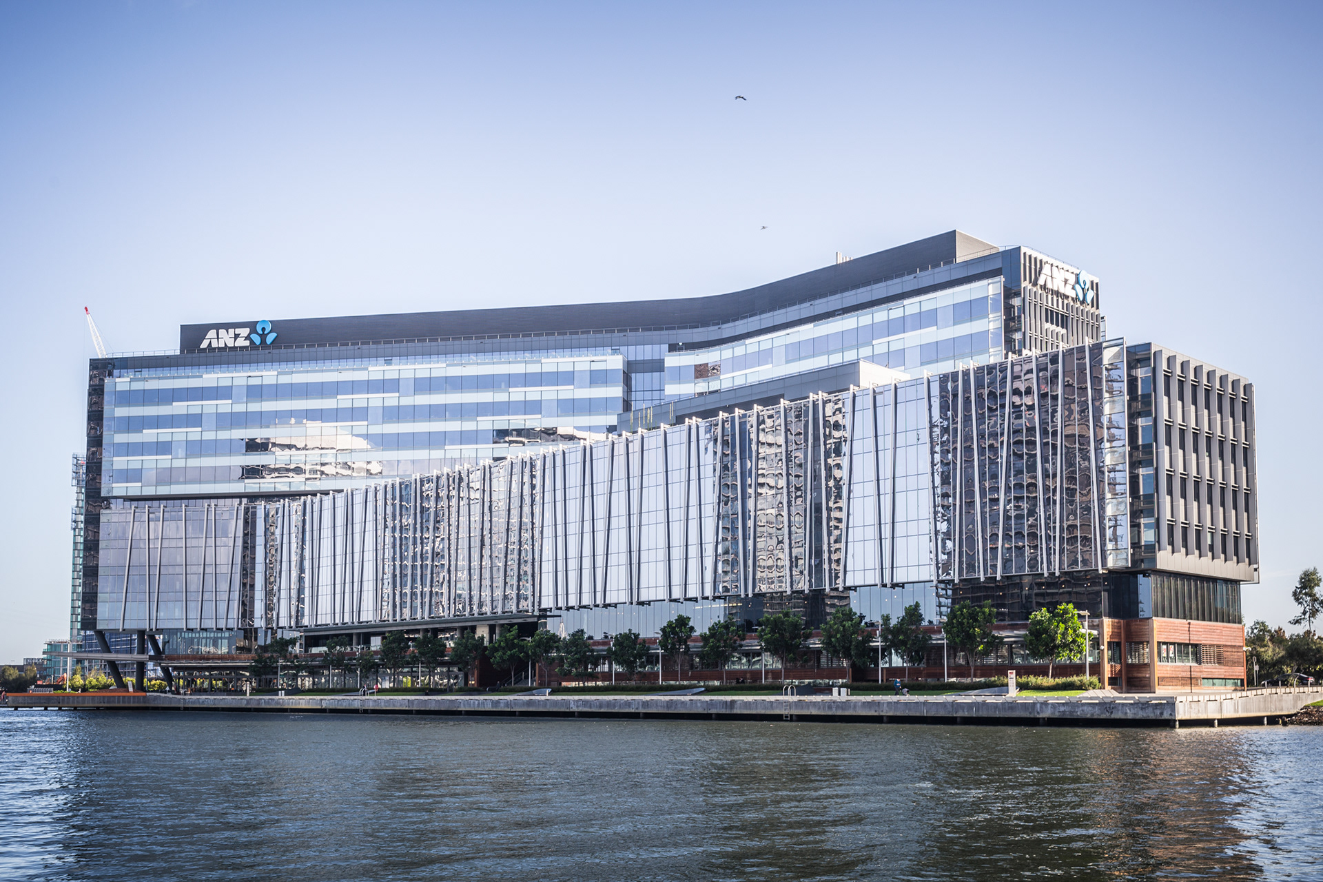 anz melbourne office. Exterior Photography Of The ANZ Building, Docklands, Melbourne For RCP Victoria Anz Office I