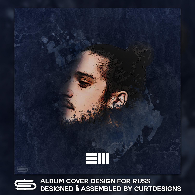 curtfrydesign russ album cover design