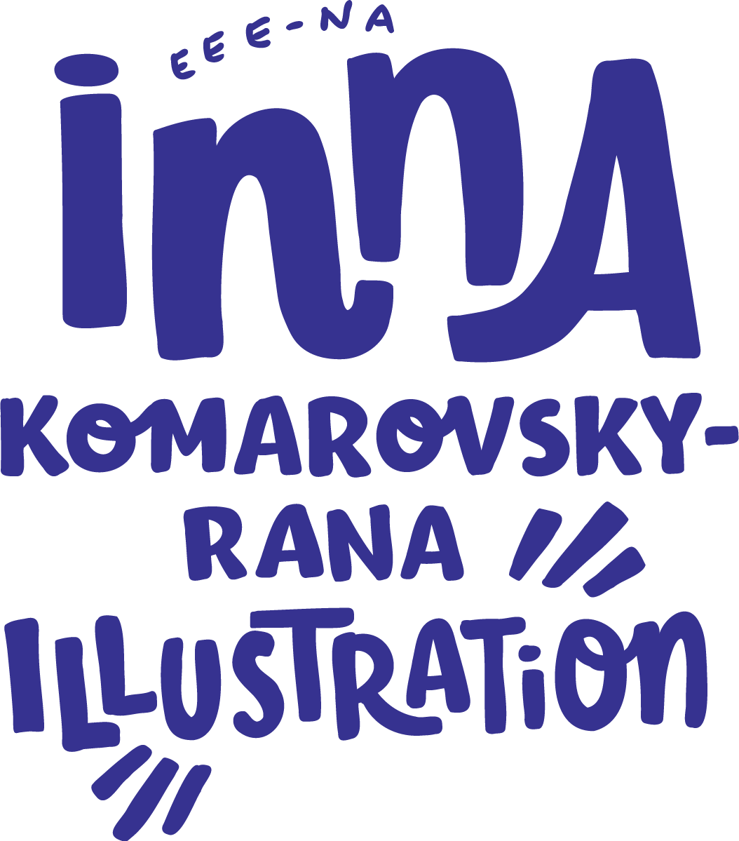Inna Komarovsky-Rana Illustration