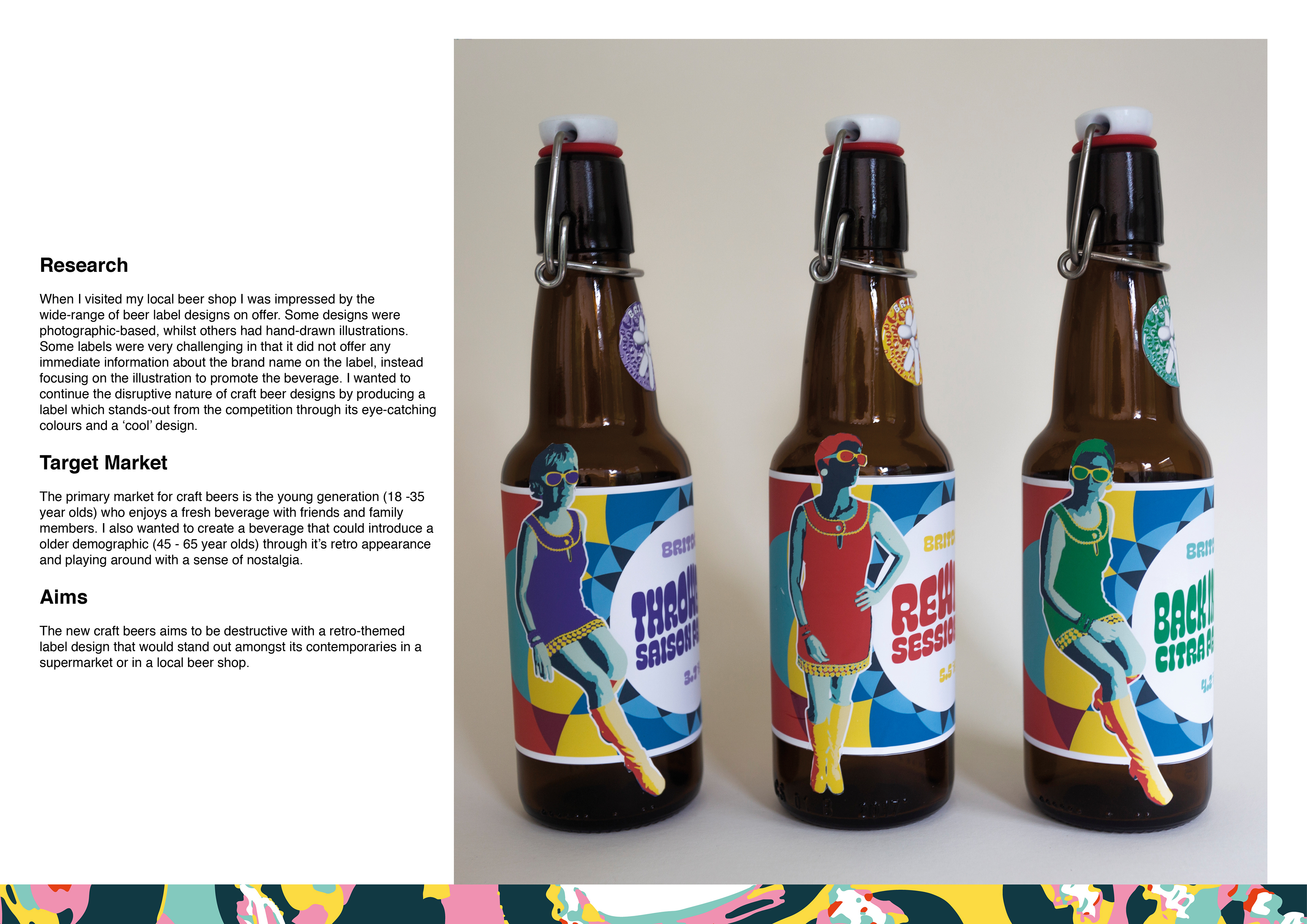 Jack Johnson Britdog Craft Beer Label Designs And Case Study