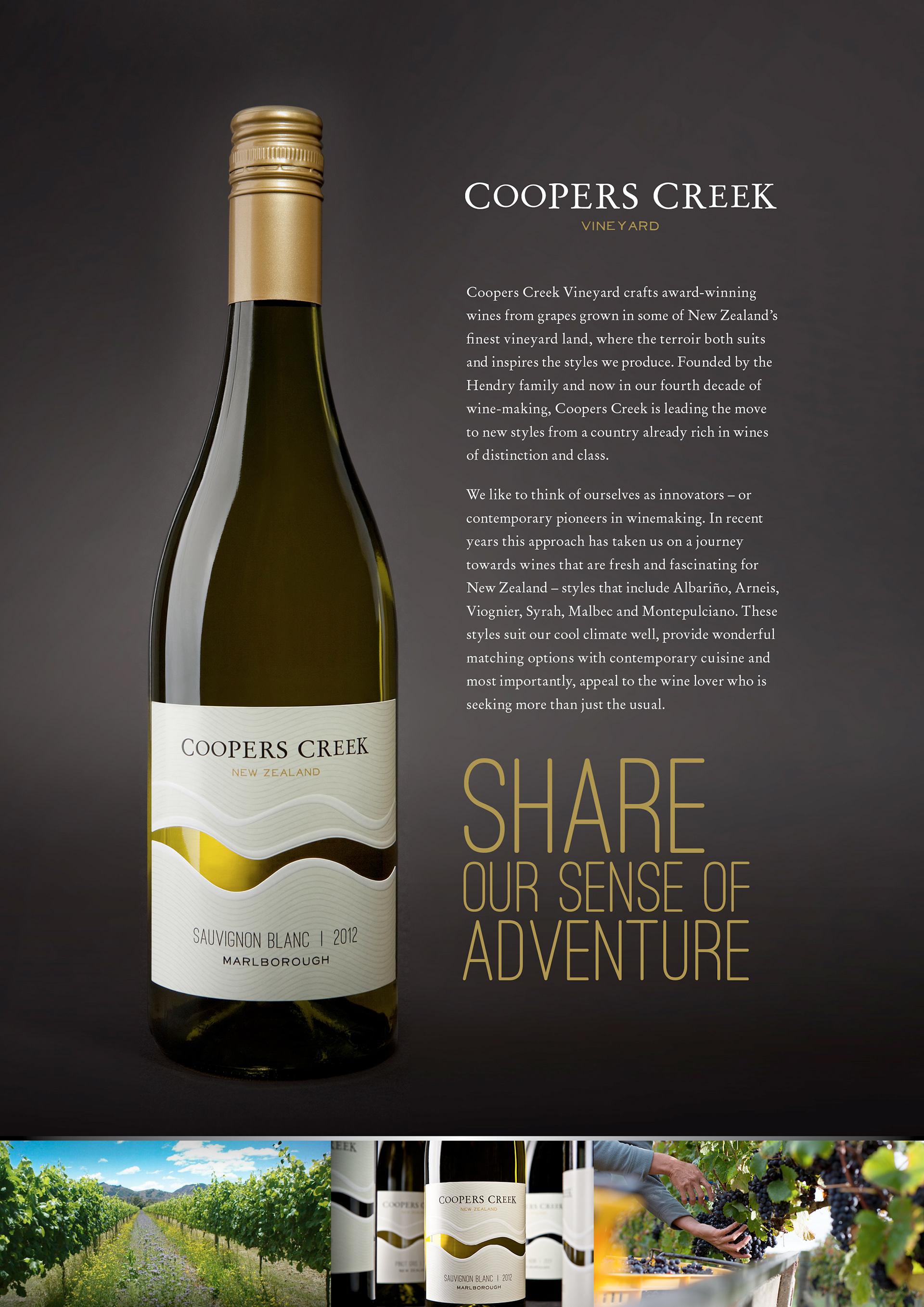 coopers creek wine management essay