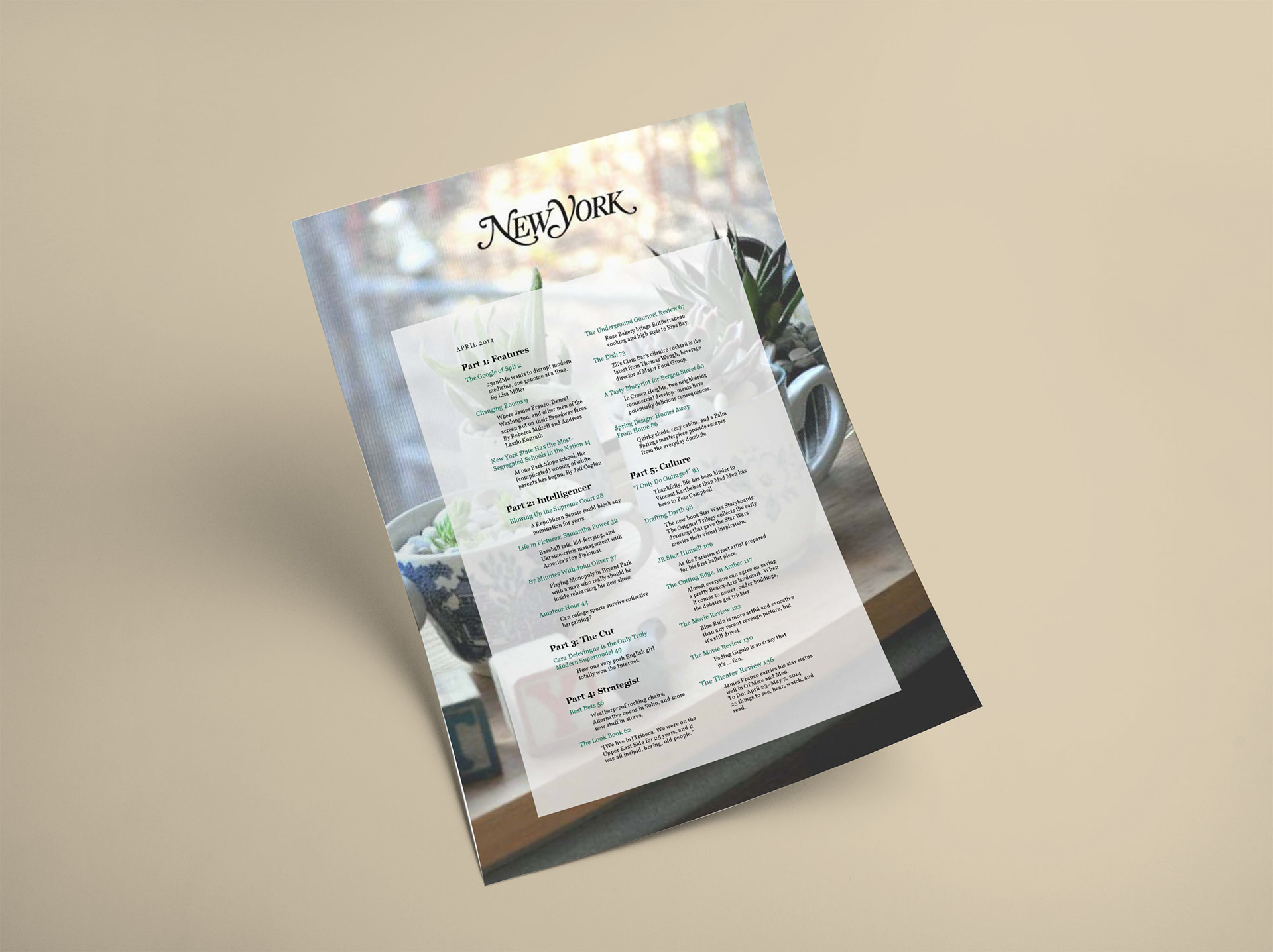 Victoria falco table of contents mockup table of contents mockup malvernweather Choice Image