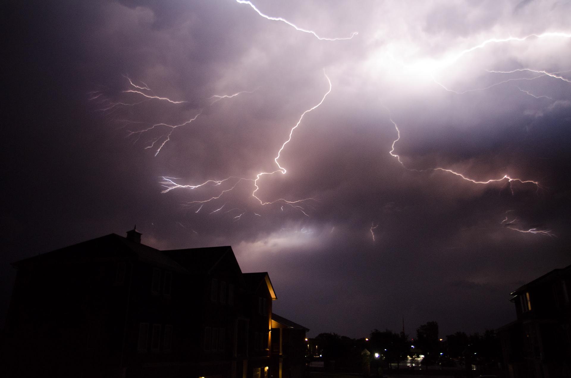 lightning burst