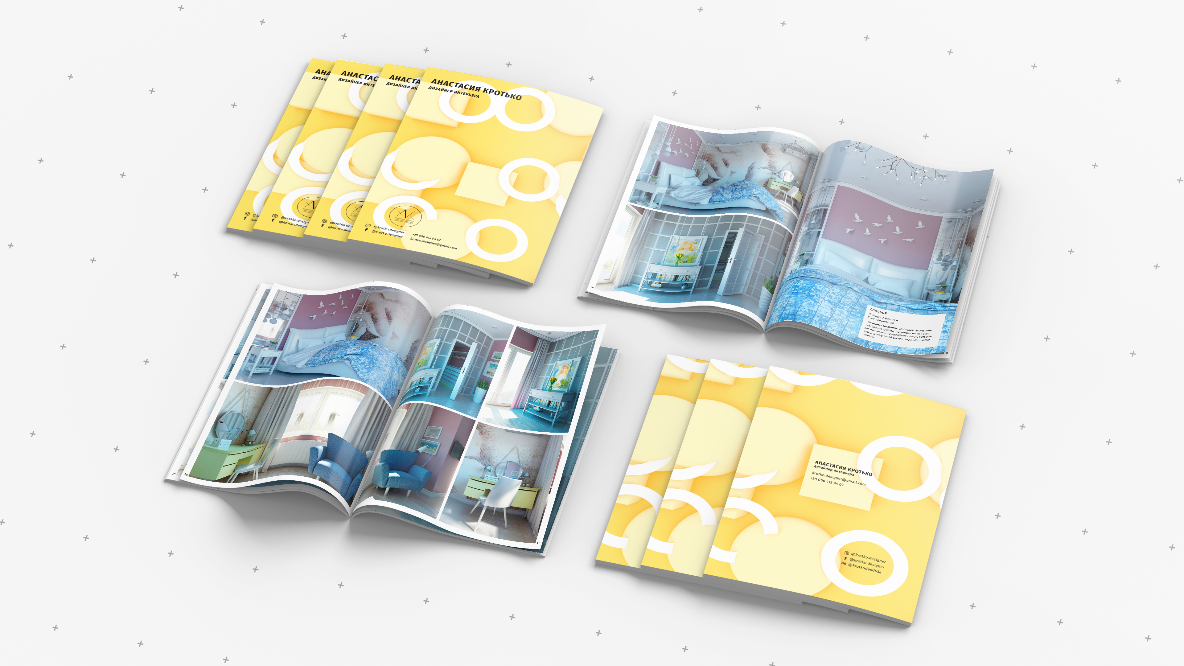 Alla Seleznova - PDF PORTFOLIO FOR INTERIOR DESIGNER