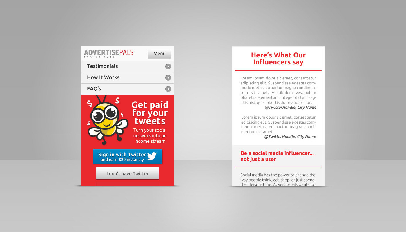 David Delgado Advertise Pals - Web design email marketing templates