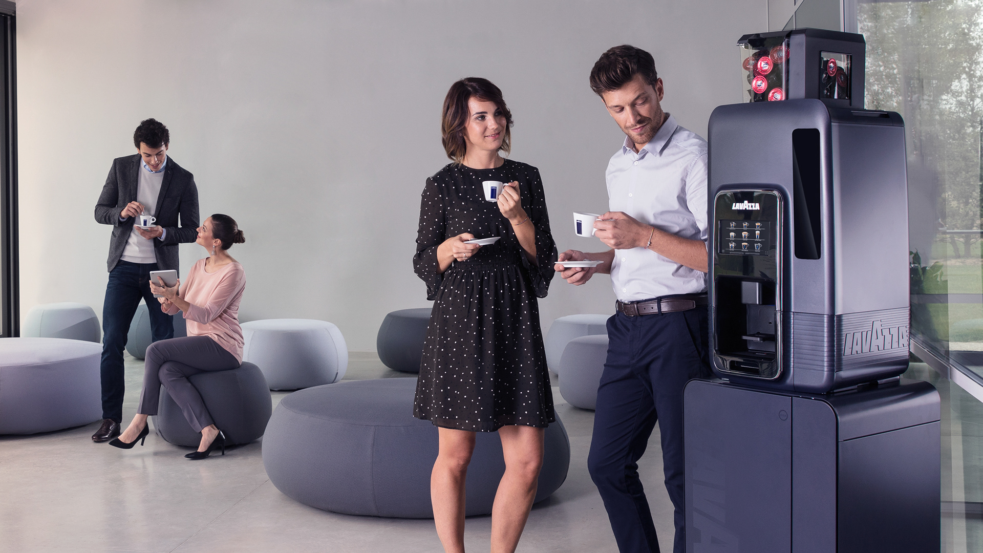 Lorenzo Croce - Photographer - LAVAZZA -Office Consumer