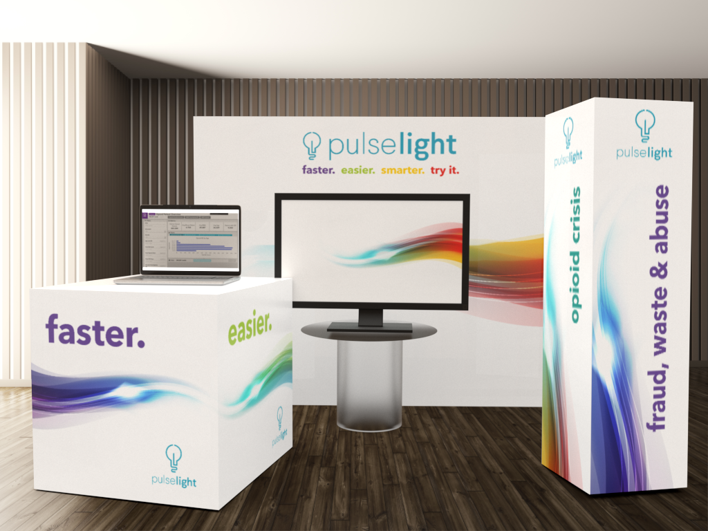 Sarita Geisel Graphic Design - Trade Show Exhibit Design: Pulselight
