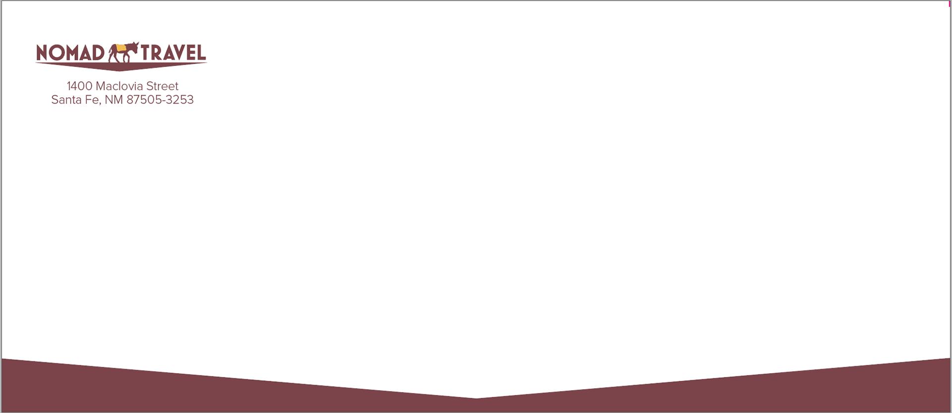 Missy Hilton - Letterhead, Business Card, Envelope