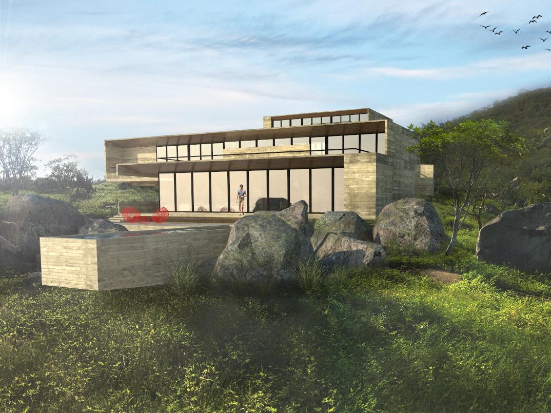 Velazco & Rodriguez - Architecture Studio in Los Cabos - Casa F4
