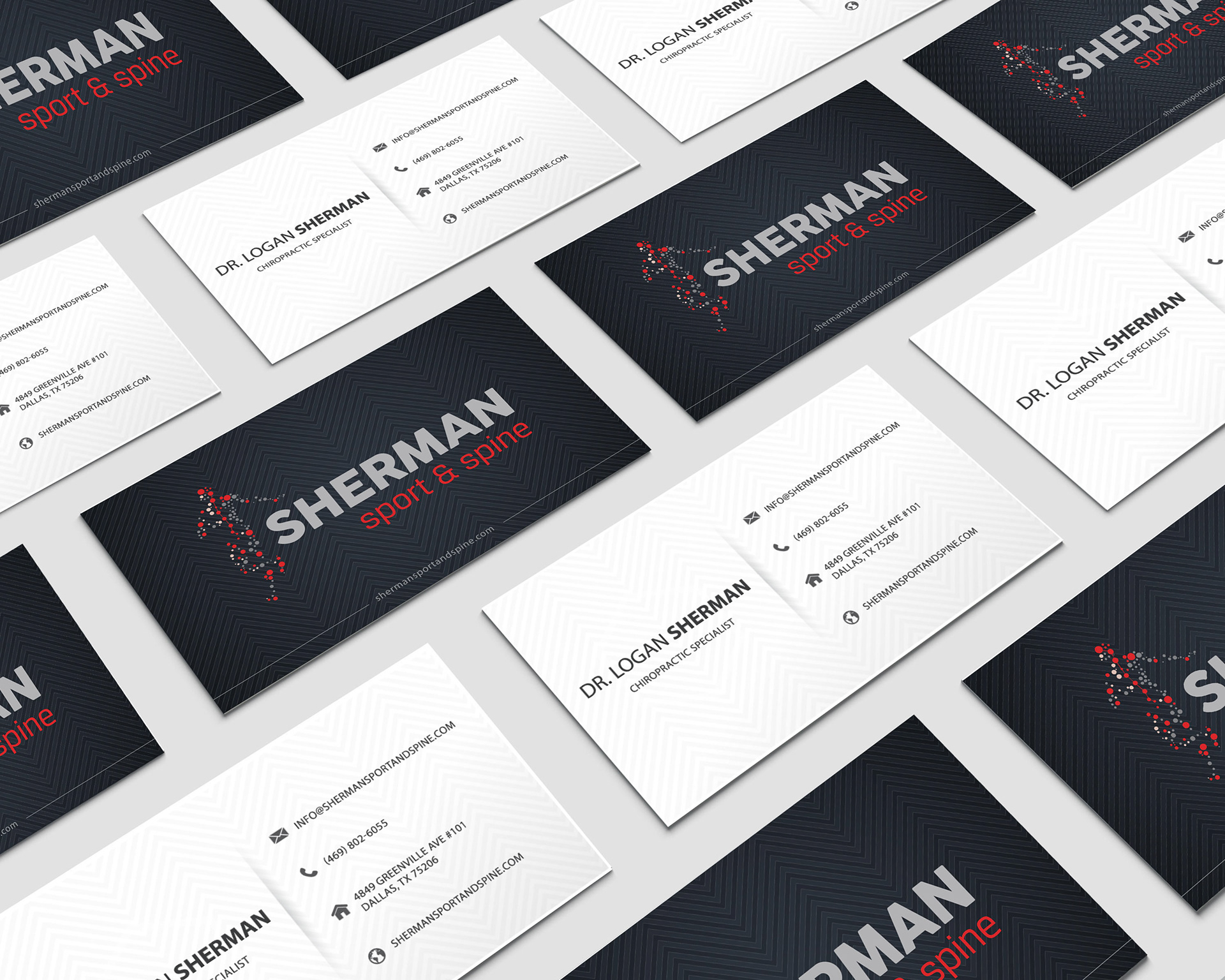 Tahressa moore sherman sport spine business his target market consisted of highly active runners and young athletes his logo was the start of his branding that was carried out through reheart Images