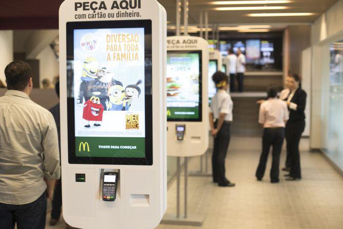 Resultado de imagem para McDonald's do futuro