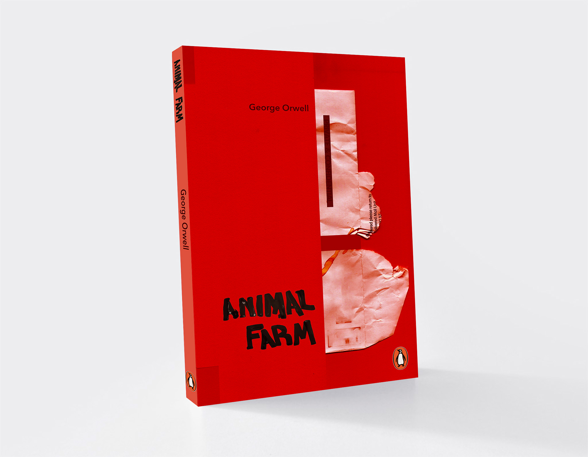 Lizzie Reid Animal Farm Book Cover Design Penguin Student Awards
