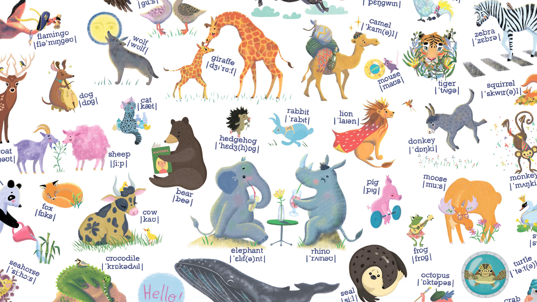 значение постер про животных на немецком смотрятся занавески, которым