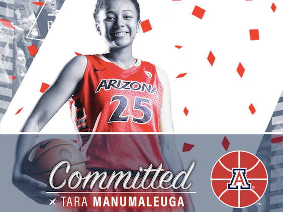 Austin Lewter - Committed recruits design for UofA Women's Basketball