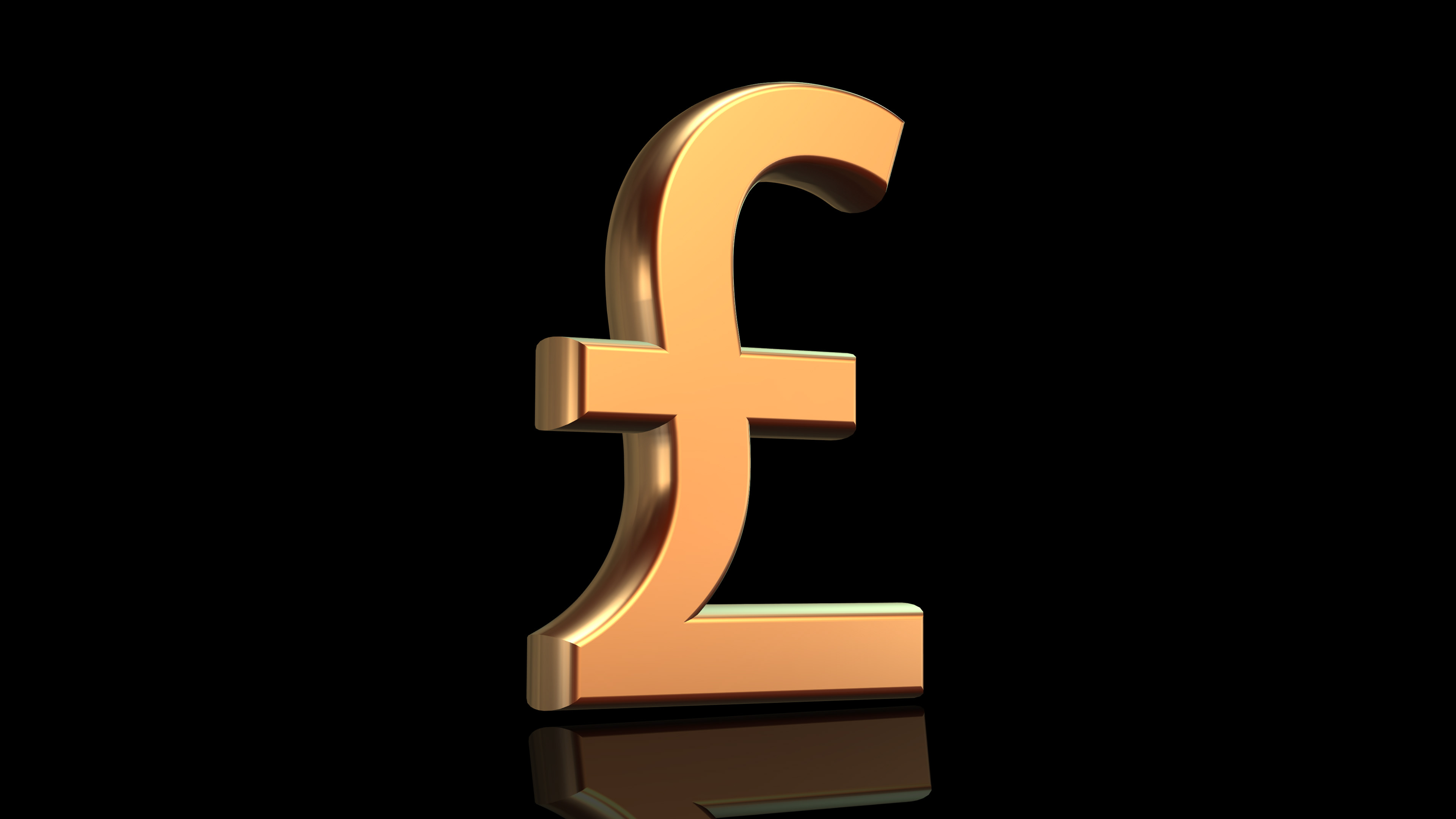 Freestyle Designworks Money Symbols Gold Currency Signs