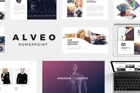 Webdesign resources development alveo minimal powerpoint alveo is a modern and creative minimal powerpoint template this creative presentation template it is suitable for personal portfolio creative agency toneelgroepblik Images