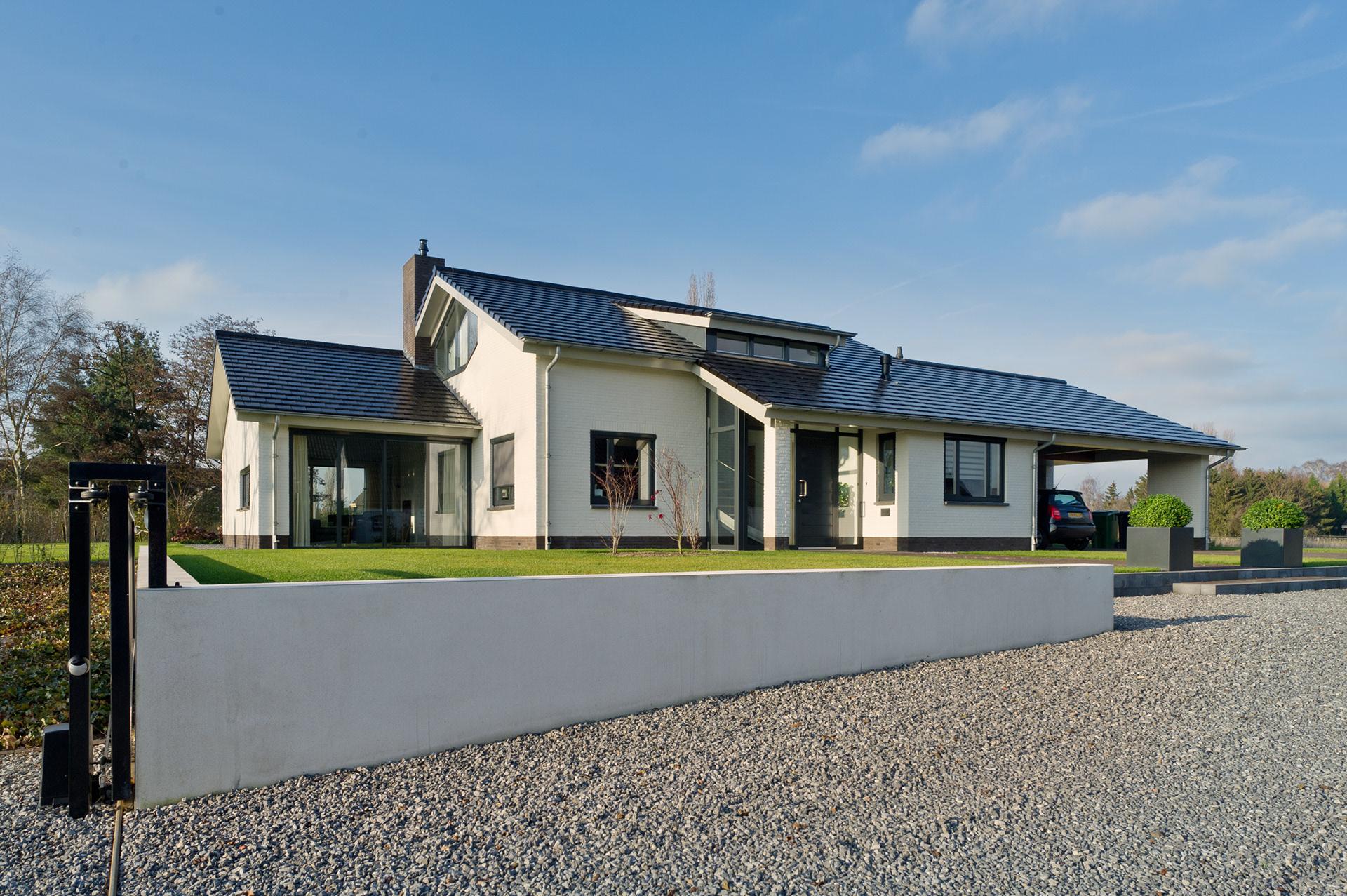 Modern landhuis cheap van modern landhuis naar villa with for Modern landhuis