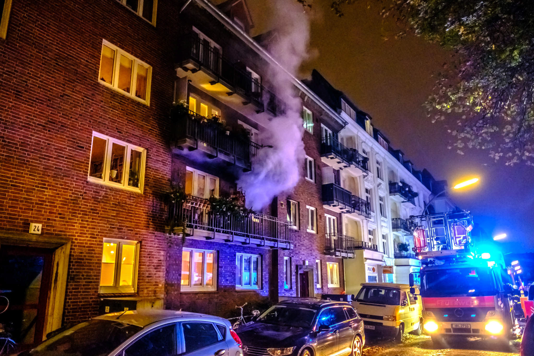 Michael Arning - 2018-10-30 Wohnungsbrand in Hoheluft