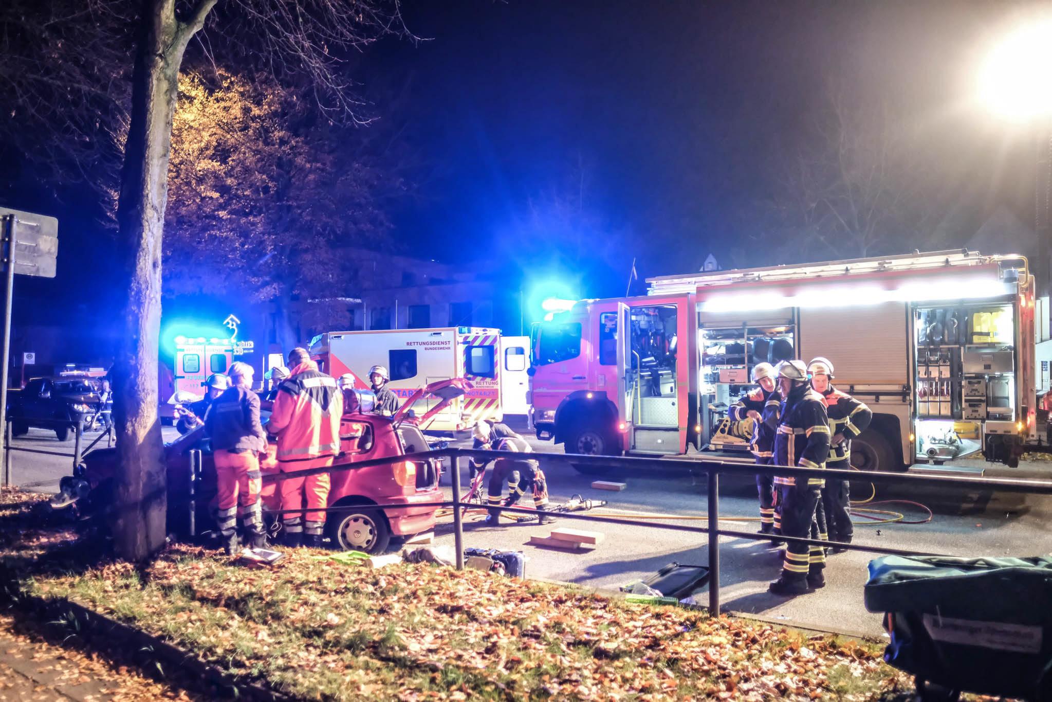 Michael Arning - 2018-11-14 Tödlicher Unfall mit GARD RTW