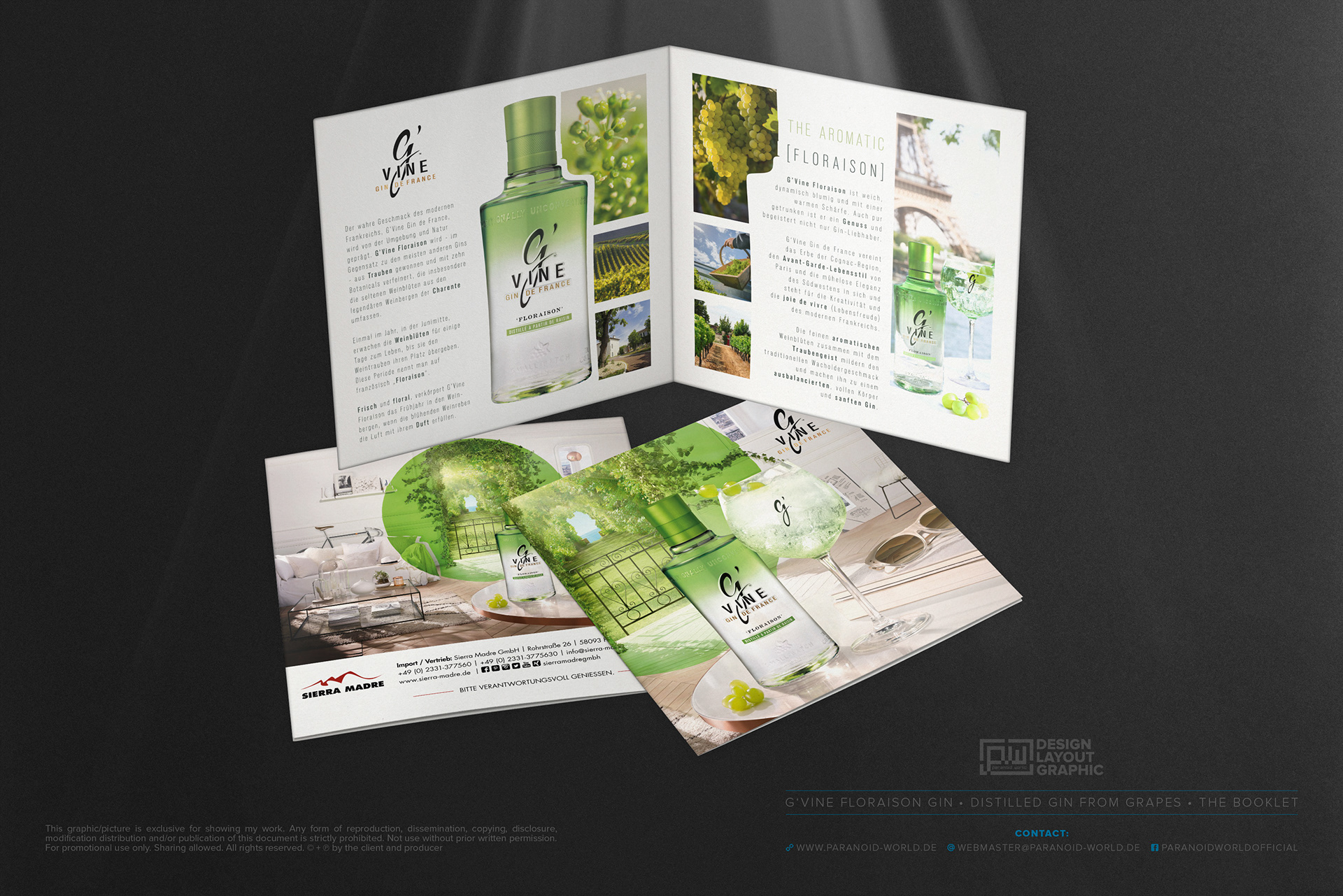 PARANOID WORLD | Design • Layout • Graphic - G\'VINE • Floraison ...