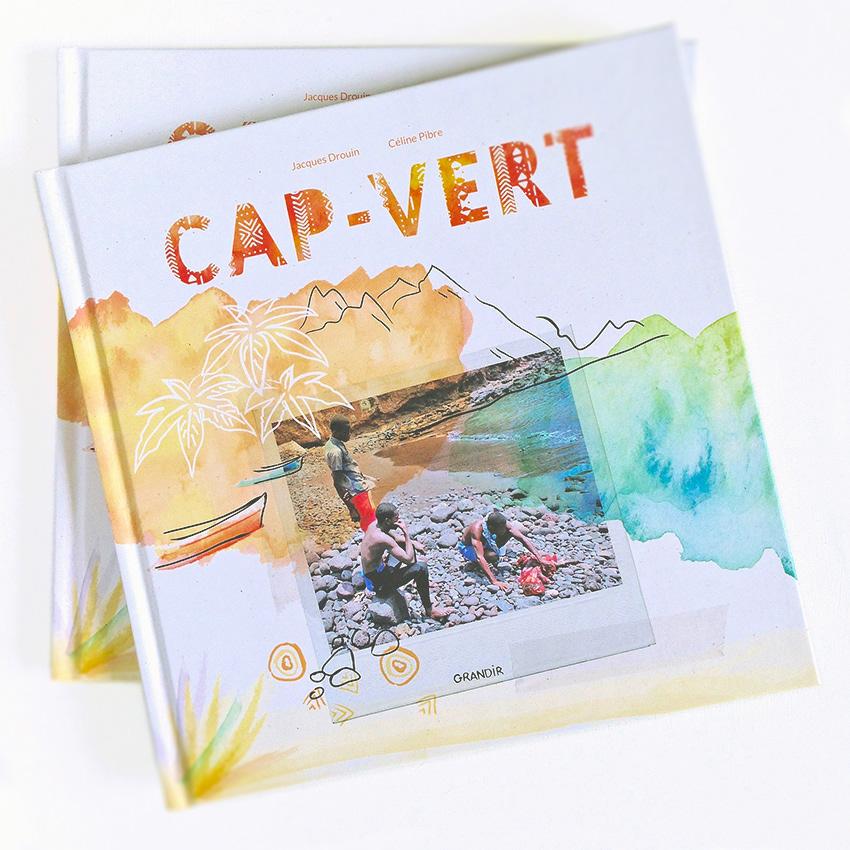 Celine Pibre Illustration Graphic Design Cap Vert Livre