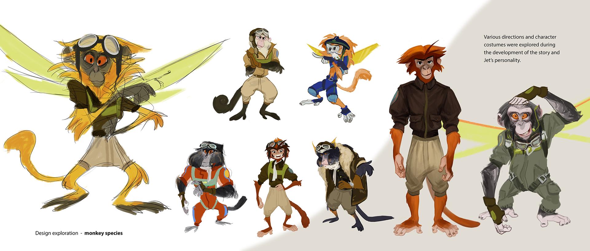 ruby xia character design portfolio