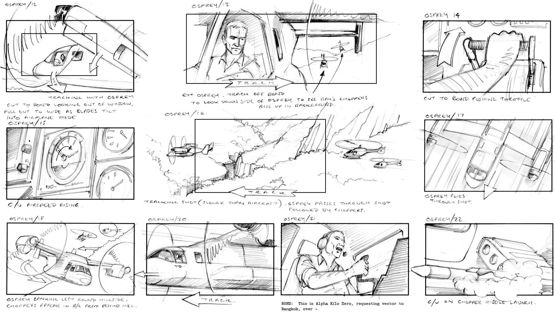 Jake Lunt Davies Bond 007 Bloodstone Osprey Engine Diagram Video Game Cut Scenes Cinematics Activision Bizarre Creations