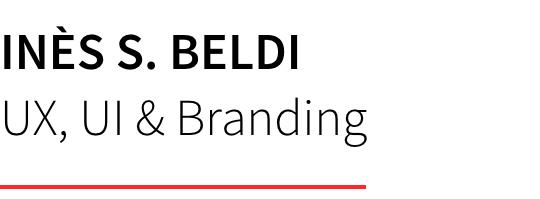 Inès S. Beldi - UX, UI & Branding