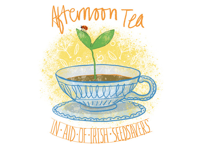 Mizz Winkens Seed Savers Afternoon Tea Invite
