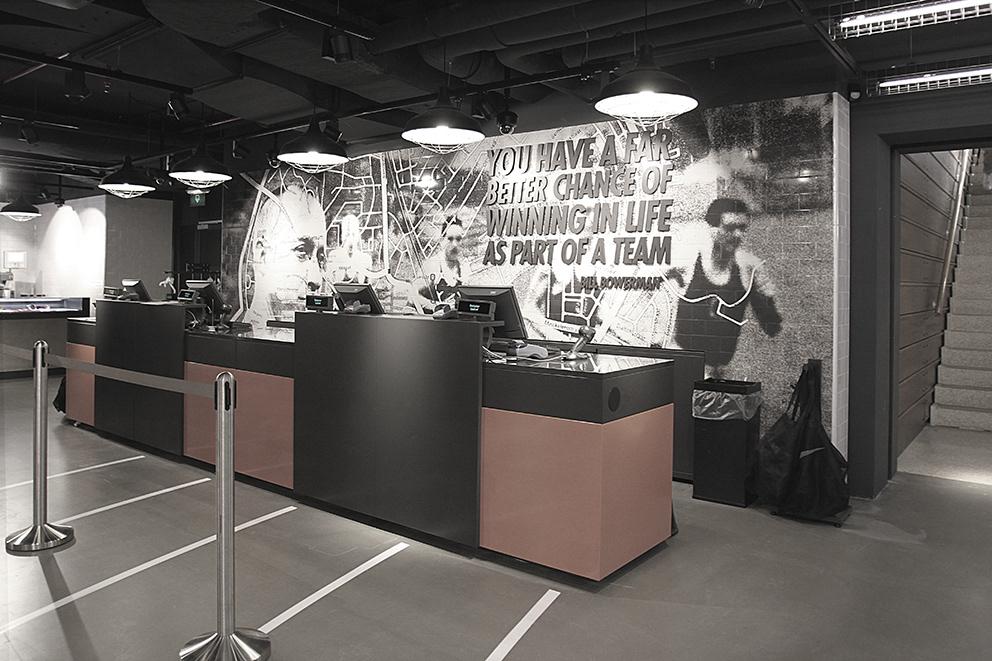 Nike Canteen by UXUS, Hilversum – Netherlands