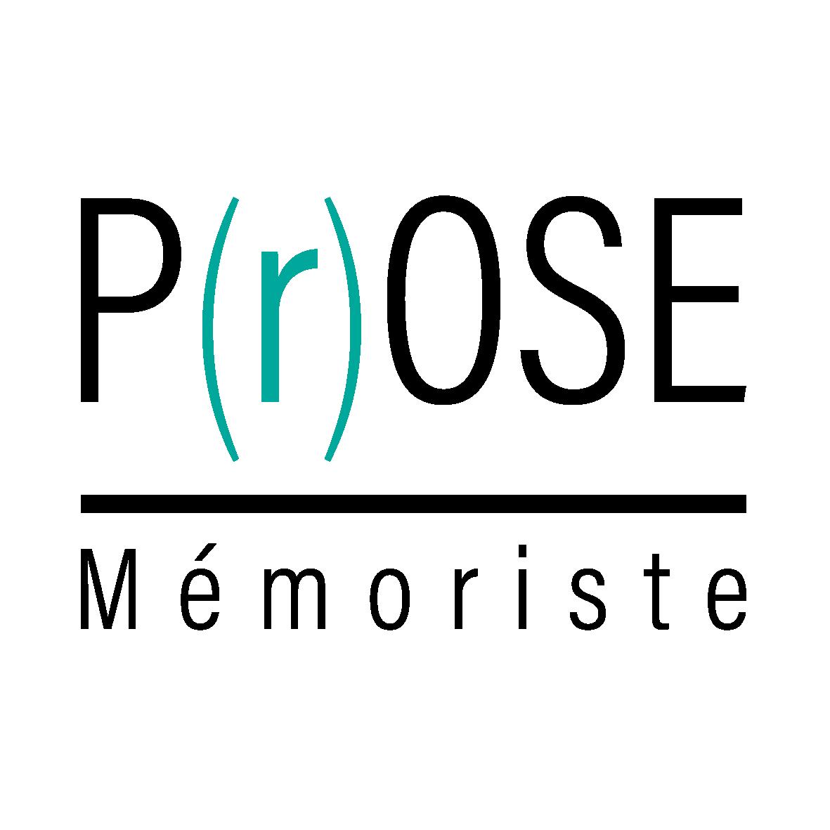 P(r)OSE Mémoriste