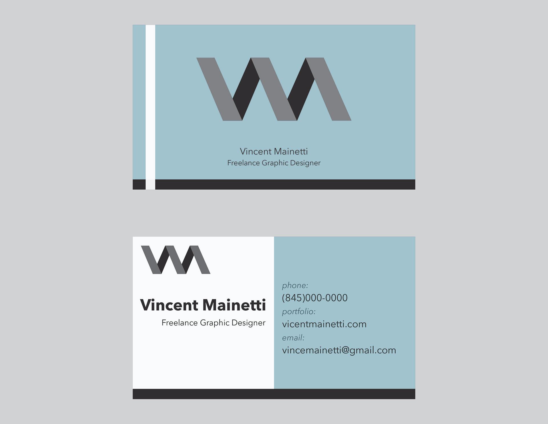 Elyssa VanBenschoten - Freelance Business Card and Logo Design